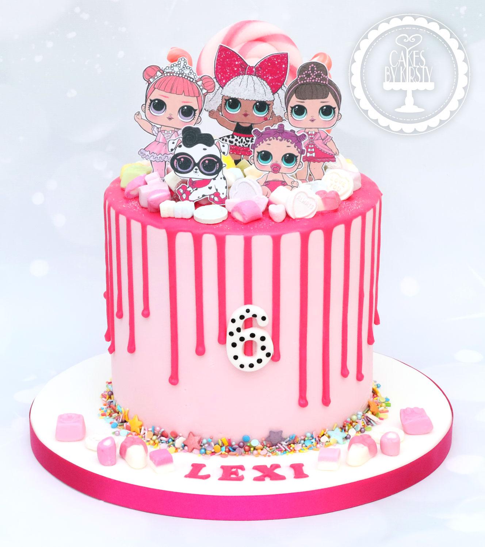 20191222 - LOL Doll 6th Birthday Cake