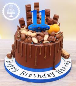 20190728 - Kinder Chocolate Drip Cake