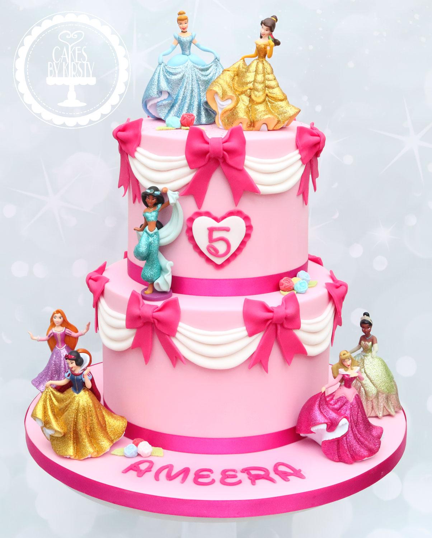 20200118 - Princess 5th Birthday Cake