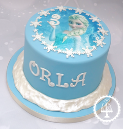 Frozen 3rd Birthday Cake