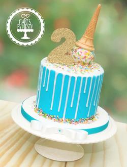 20190928 - Ice Cream Drip Cake
