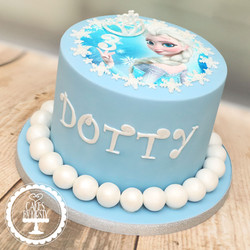 20200221 - Frozen Princess Cake