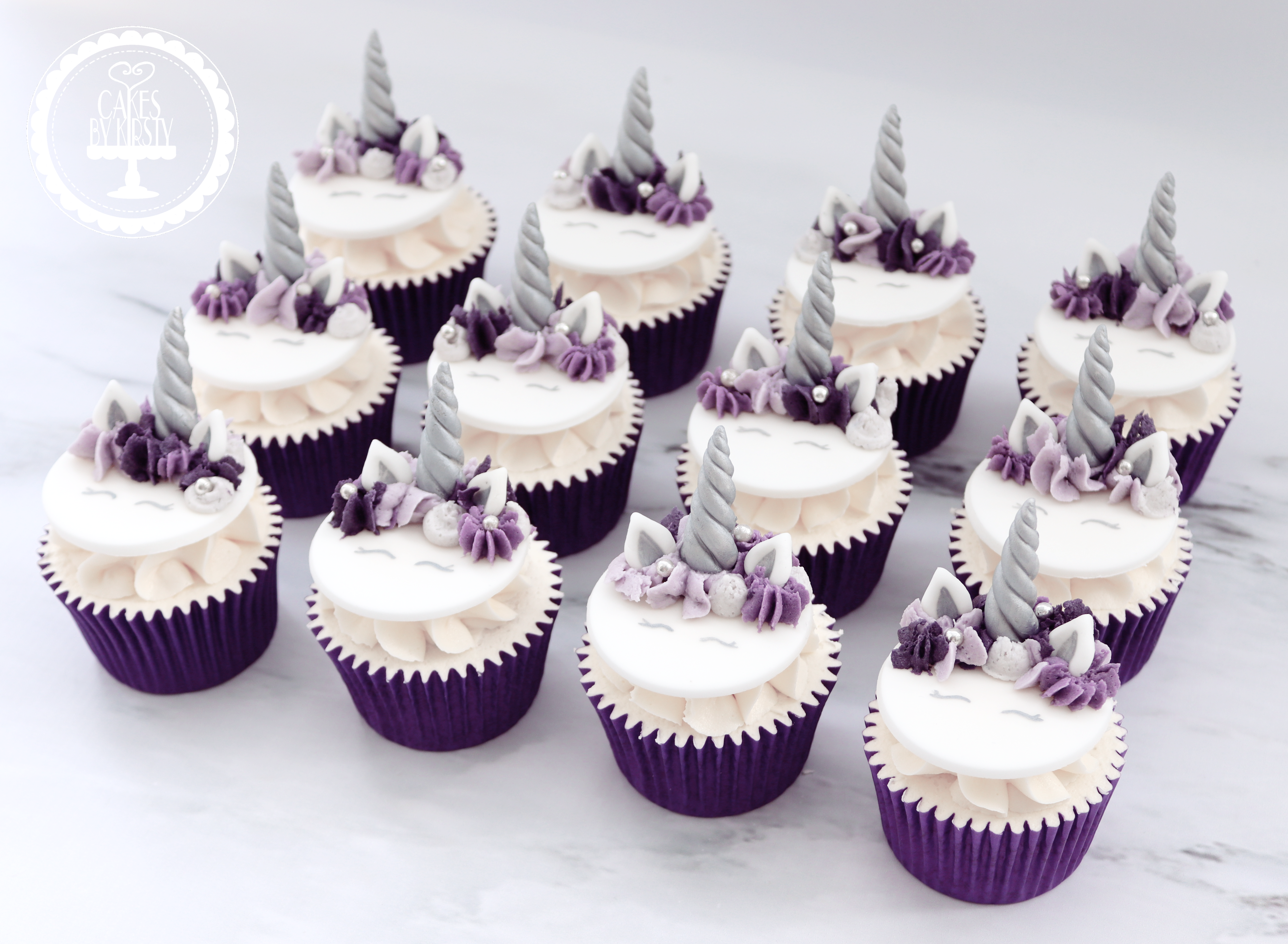 20190712 - Purple Unicorn Cupcakes