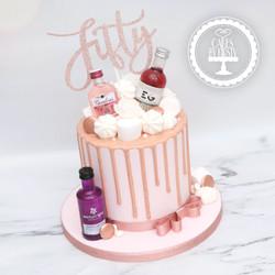 20210129-Pink-Gin-Drip-Cake