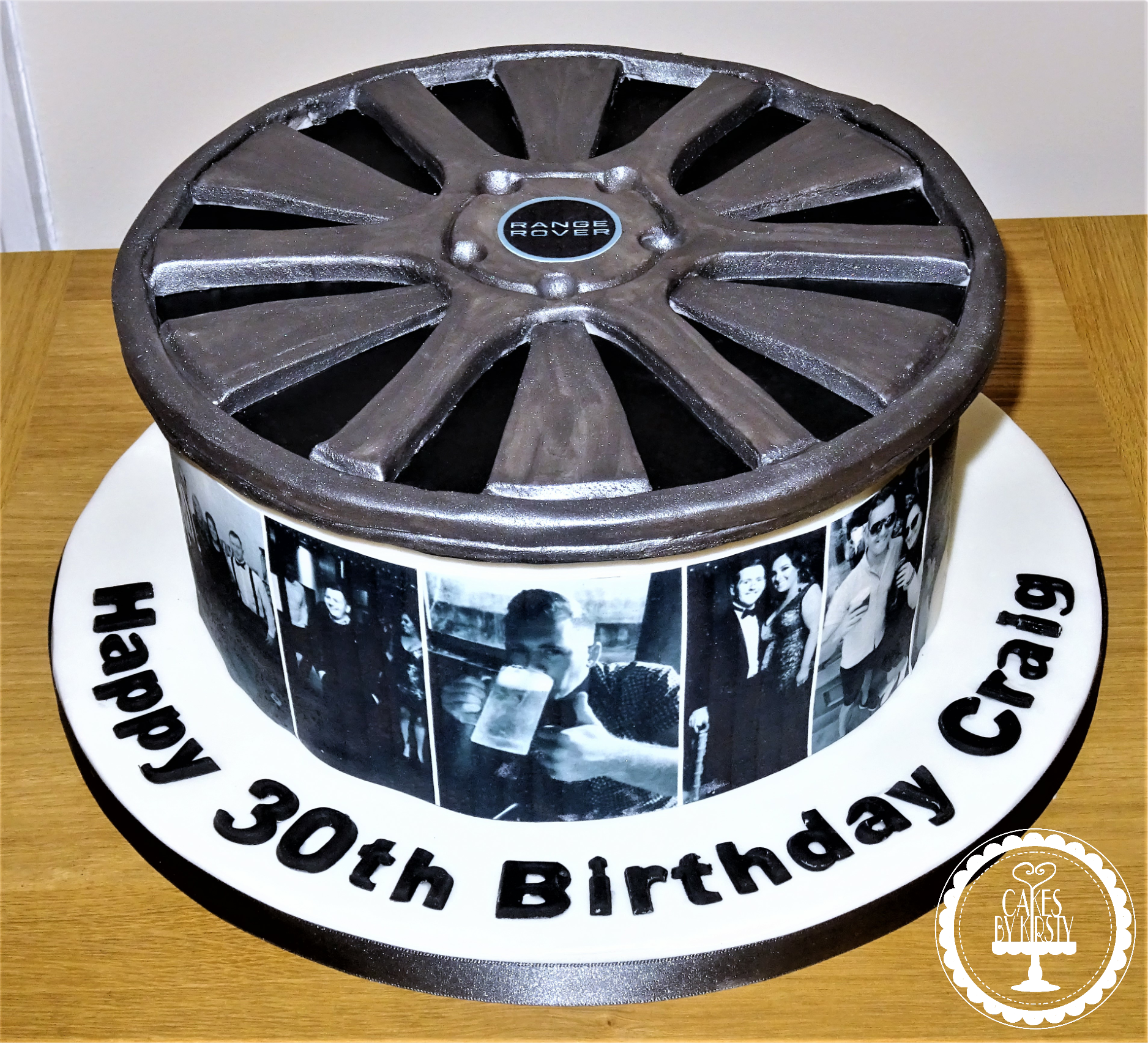 Alloy Wheel Cake