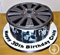 Alloy Wheel Cake