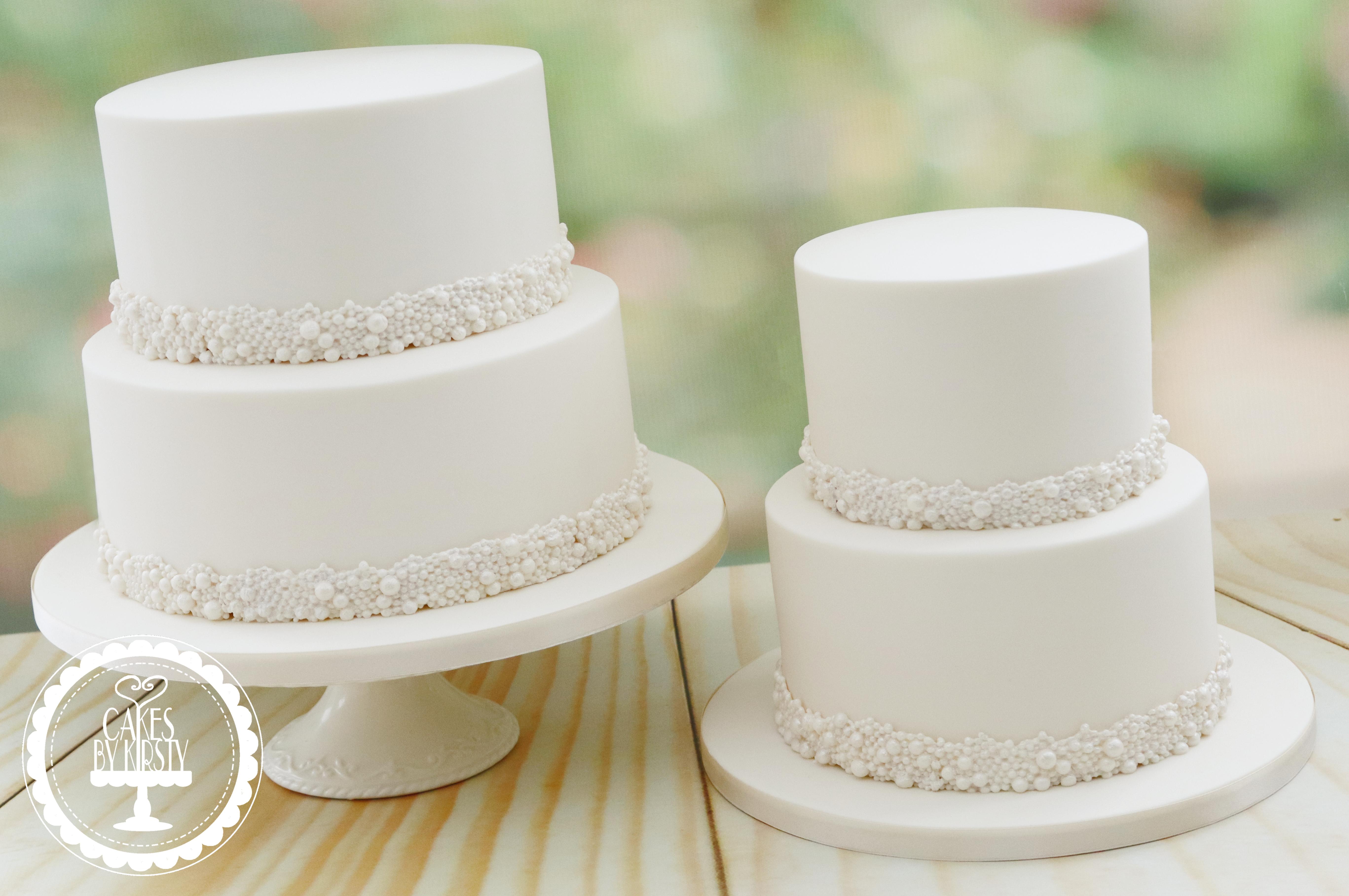 20190809 - Pearl Wedding Cakes
