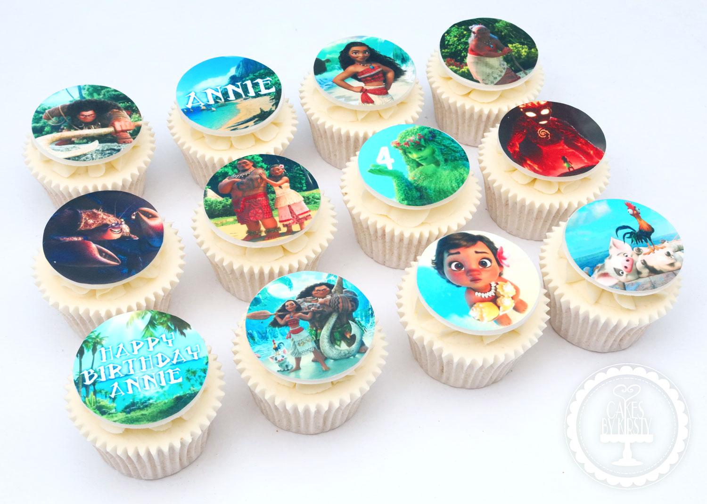 20200125 - Moana Cupcakes