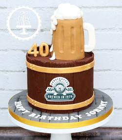 20191109 - Beer Barrel Cake
