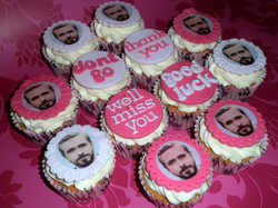Leaving Ryan Gosling Cupcakes