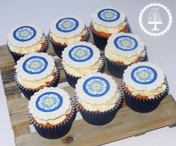 Leeds United Cupcakes