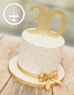 20191221 - Shimmer 30th Cake