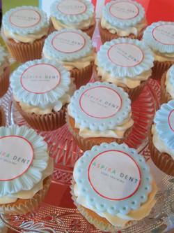 Aspiradent Company Cupcakes