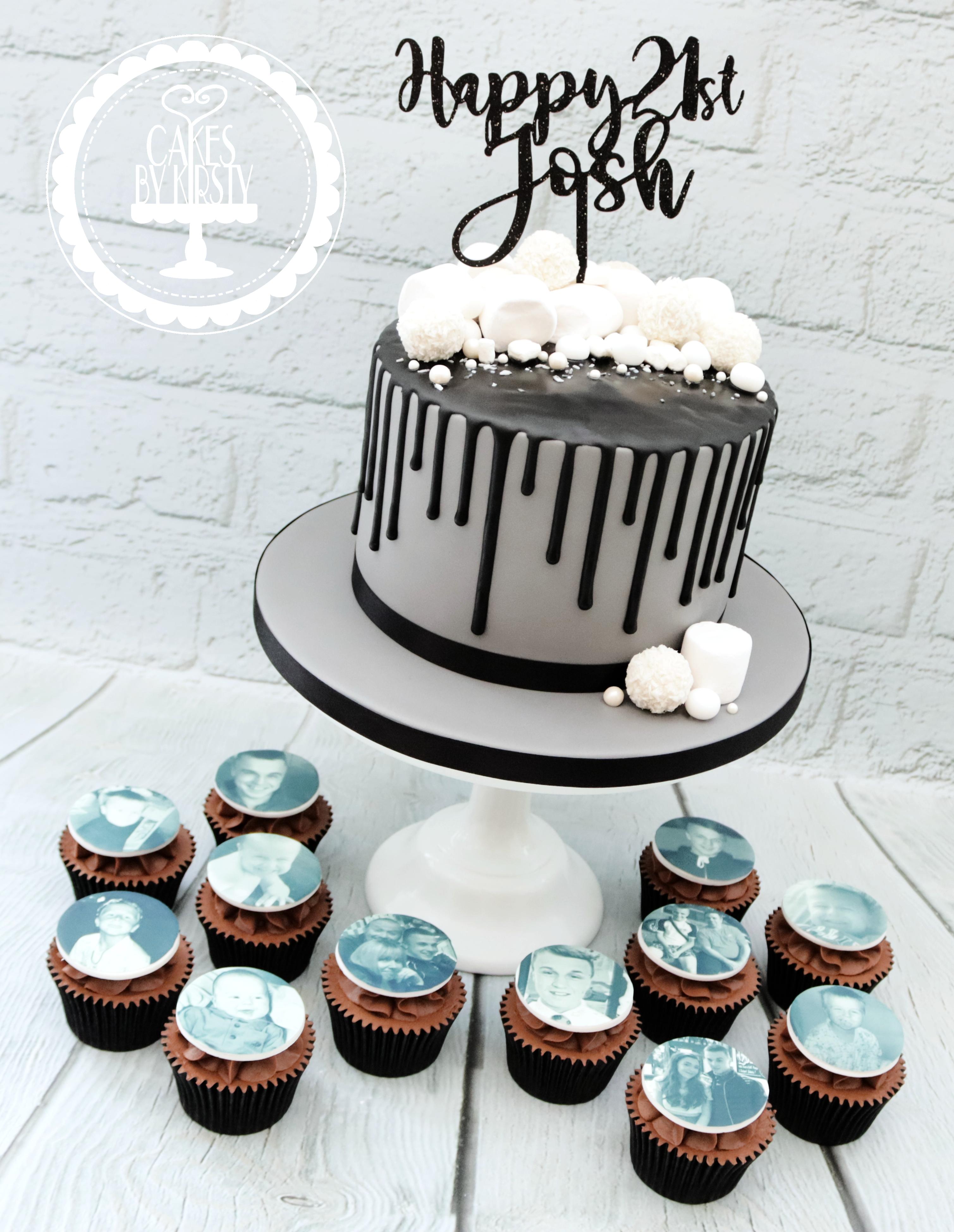20190803 - 21st Drip Cake & Cupcakes