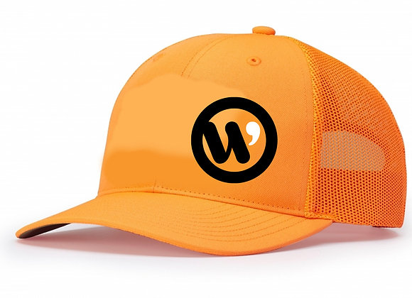 Blaze Orange Trucker Lid