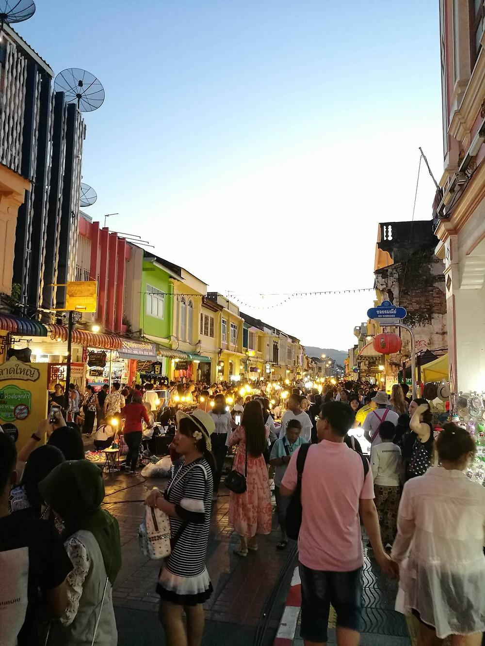 Phuket Night Market en Thaïlande