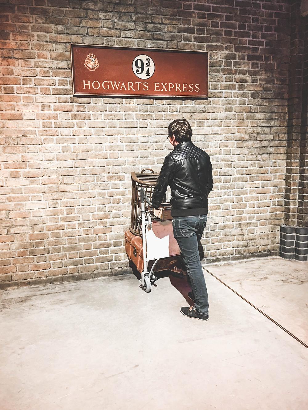 Départ pour Poudlard imminent ! Harry Potter