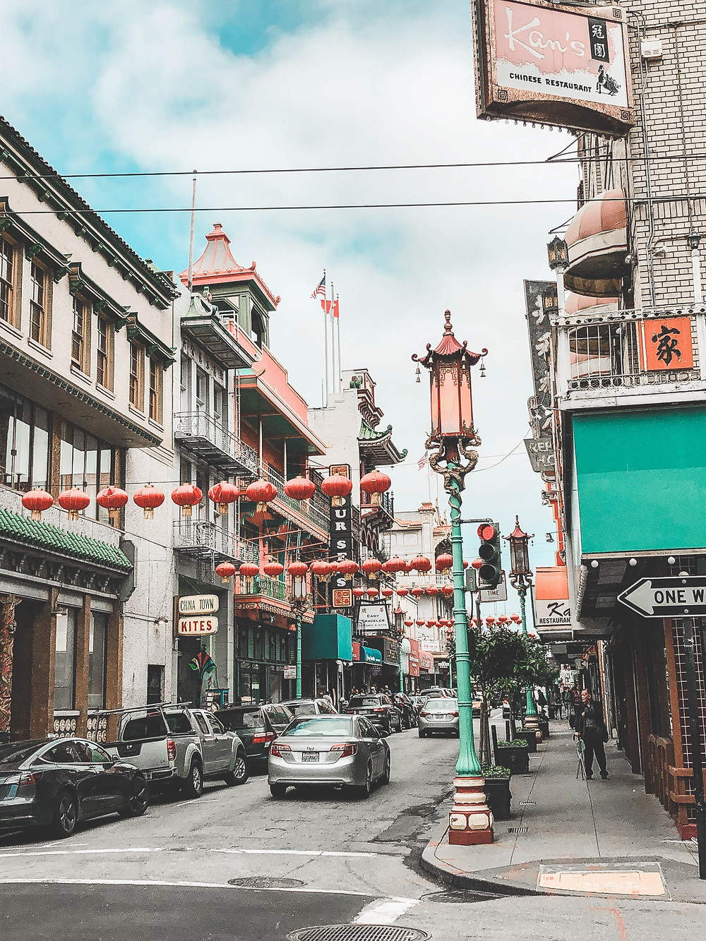 Chinatown quartier chinois San Francisco