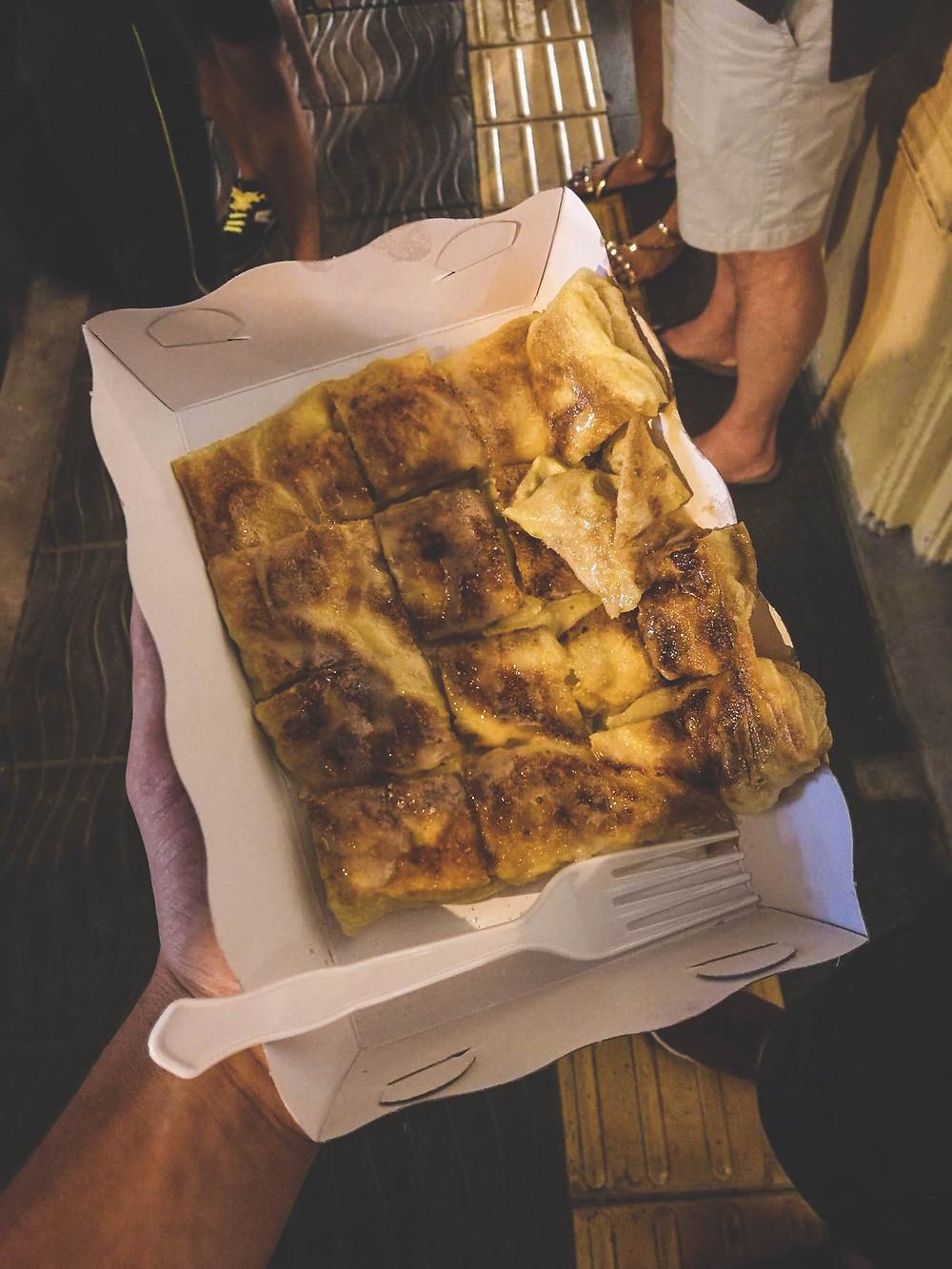 Rotee Pancake Thailande crêpe