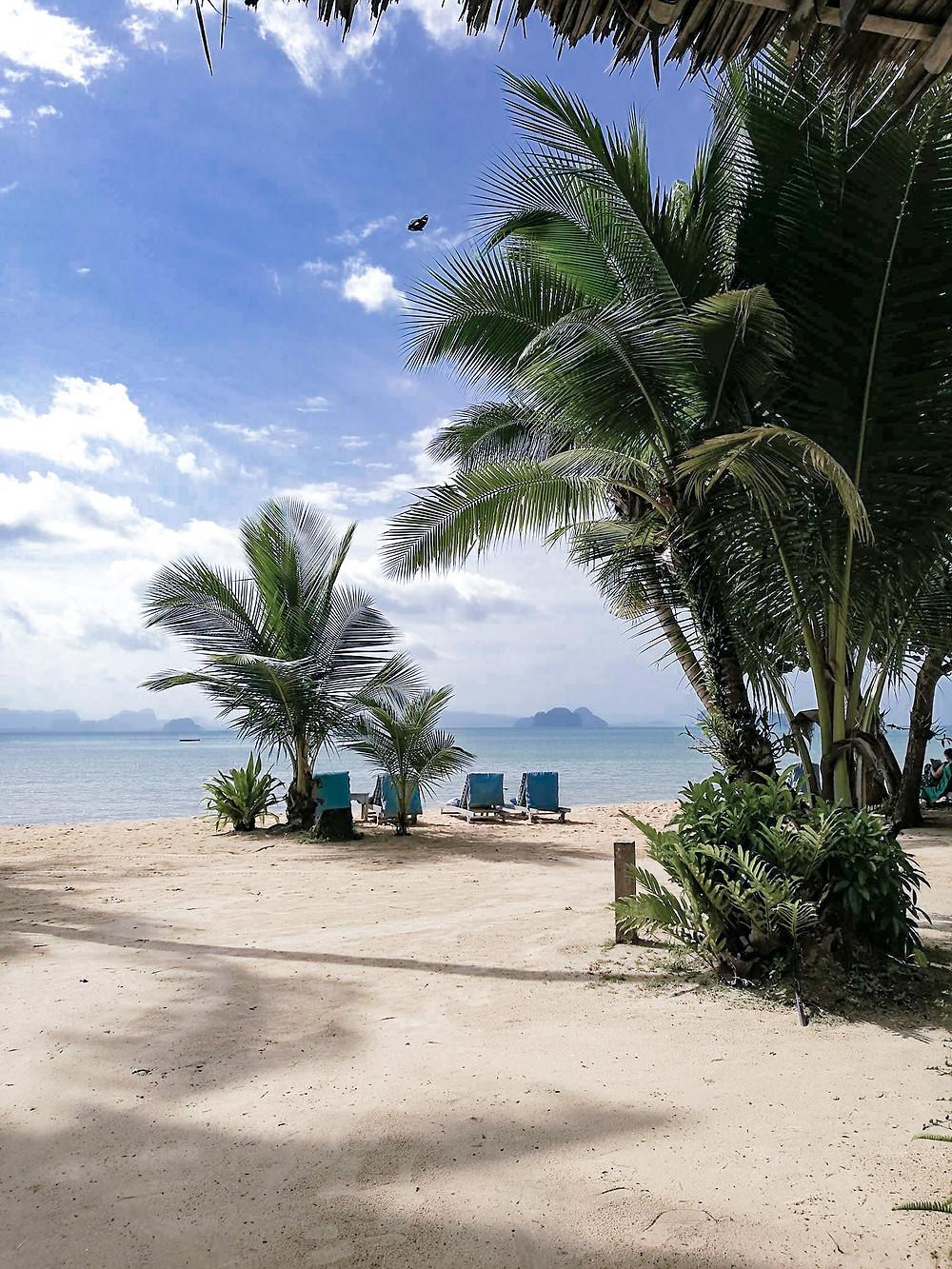 Plage de Koh Yao Noi depuis le resort Paradise Koh Yao