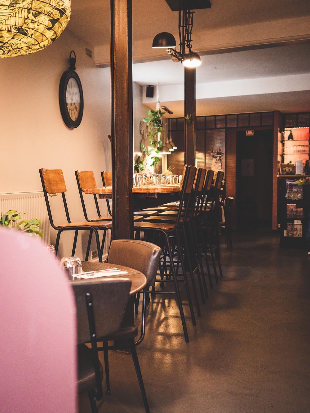 Le restaurant très cosy Les Treize Lucioles