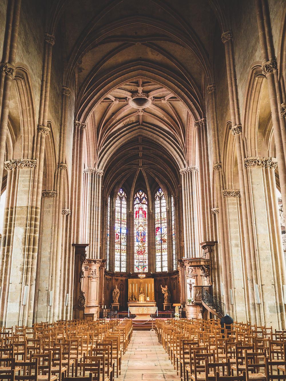 Eglise Saint-Michel de Dijon baroque roman gothique cathedrale