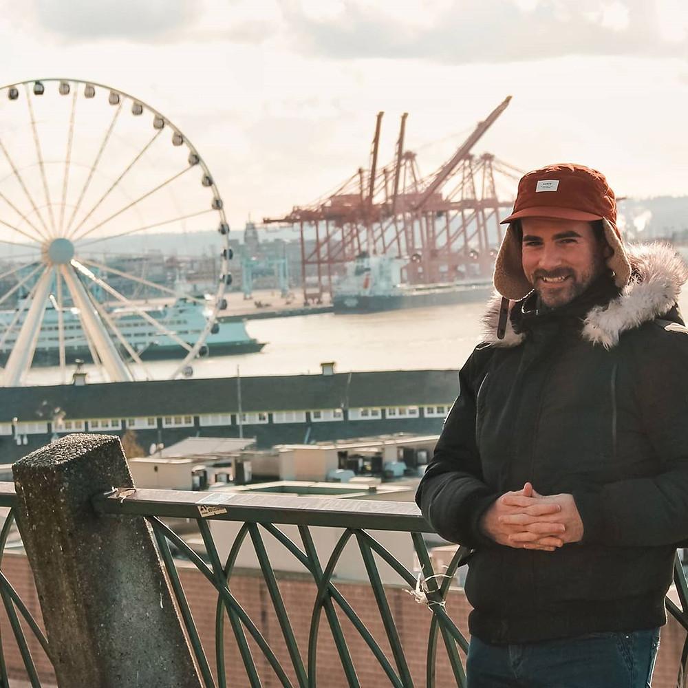 Grande roue de Seattle attraction