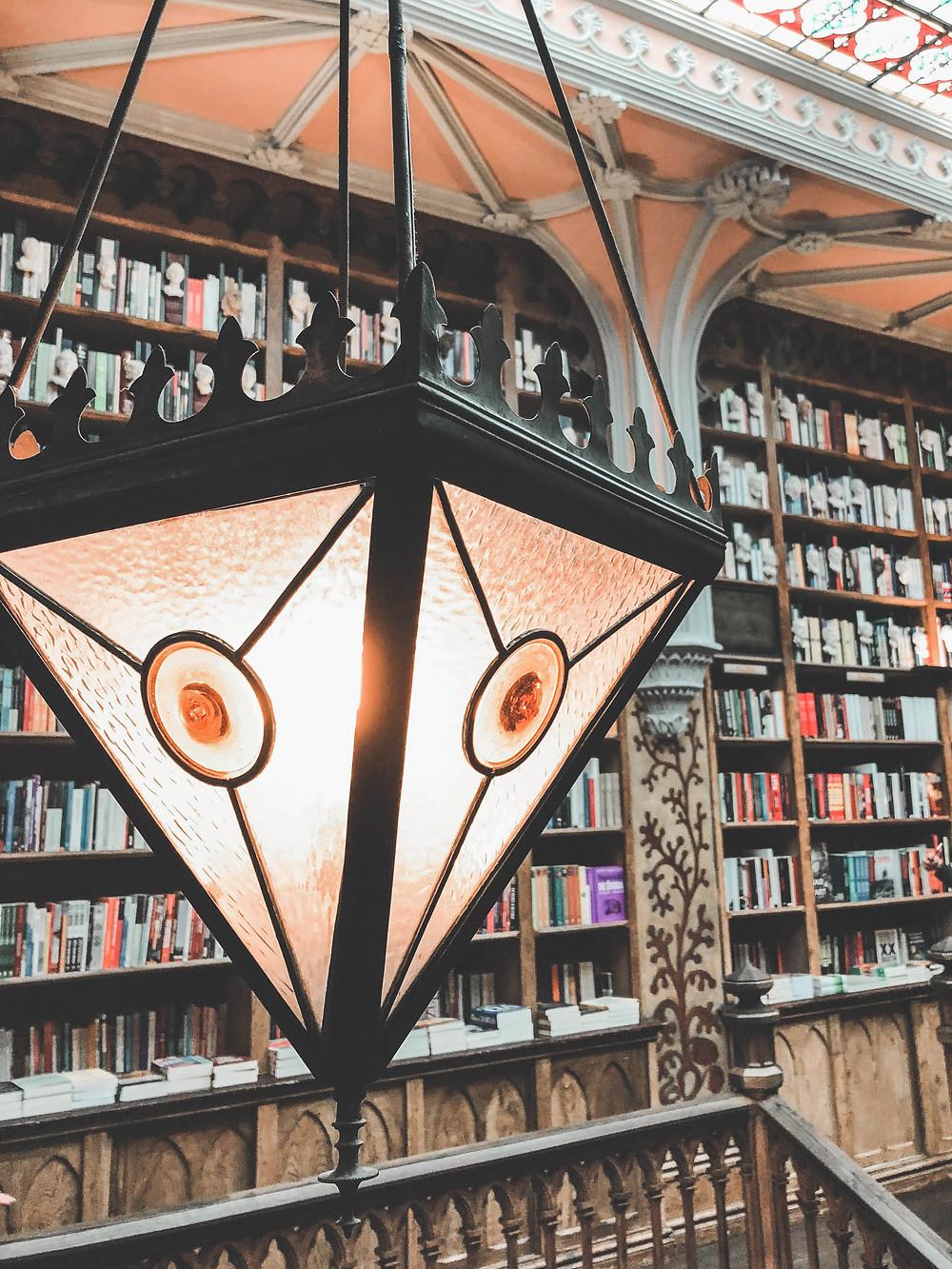 Librairie Lello inspiration Harry Potter