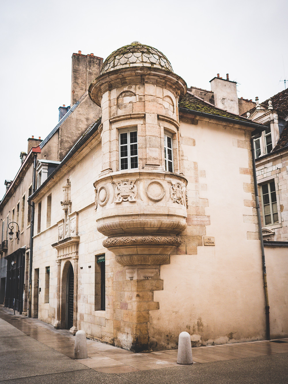 Hôtel particulier aux abords de la place des ducs de Bourgogne de Dijon