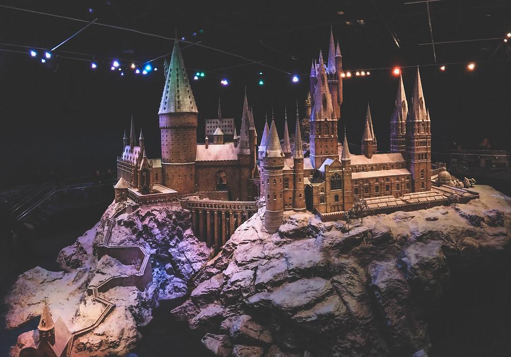 Maquette de Poudlard Harry Potter