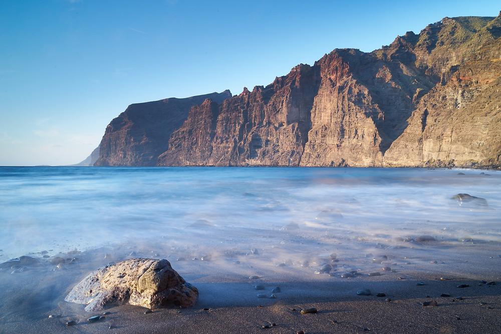 playa de los gigantes mountains tenerife