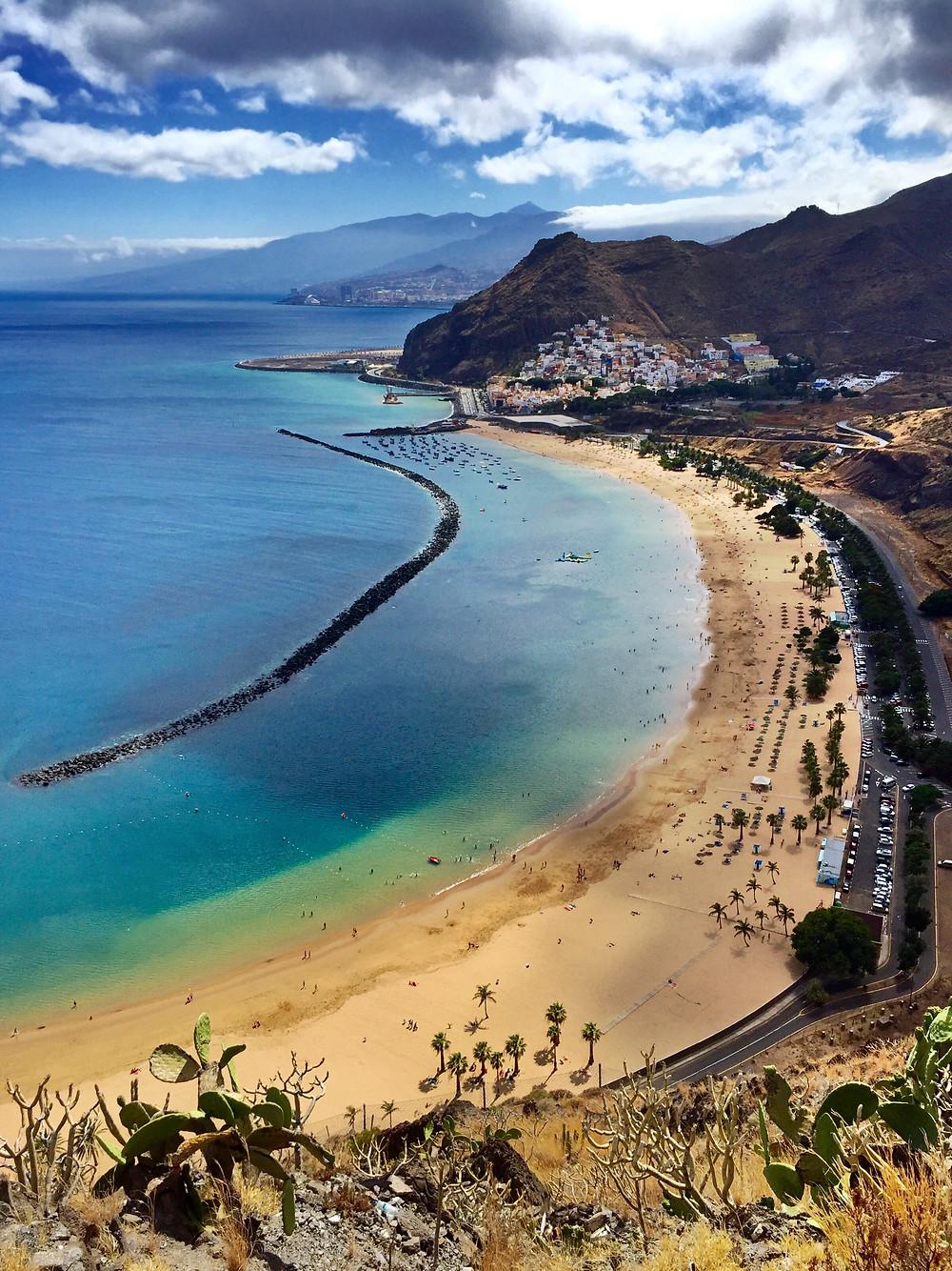 Playa de las teresitas tenerife santa cruz