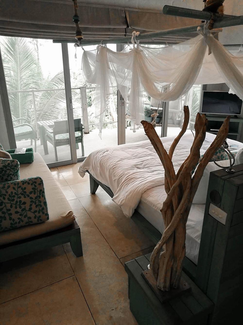 Chambre paradisiaque au coeur de la forêt du Paradise Koh Yao