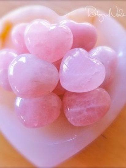 Coração, Quartzo rosa