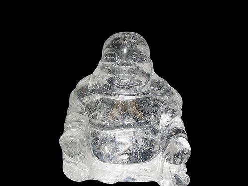 Buda de Quartzo -  10cm