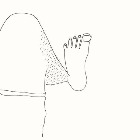 Je n'ai pas rasé mes jambes pendant un mois. Personne ne les voit