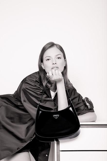 Agatha Moreira by Giselle Dias featuring Prada Cleo