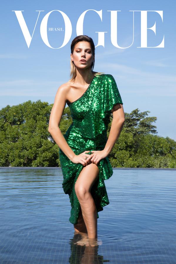 Vogue Brasil: Pamela Tomé