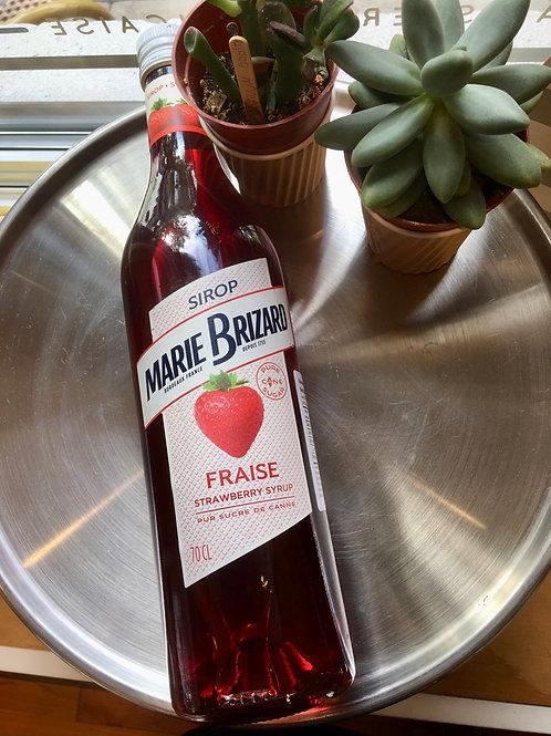 Sirop fraise Marie Brizard