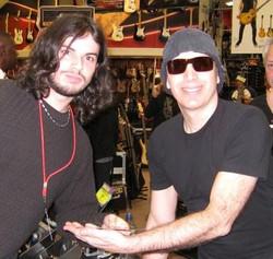 Joe Satriani at Guitar Center
