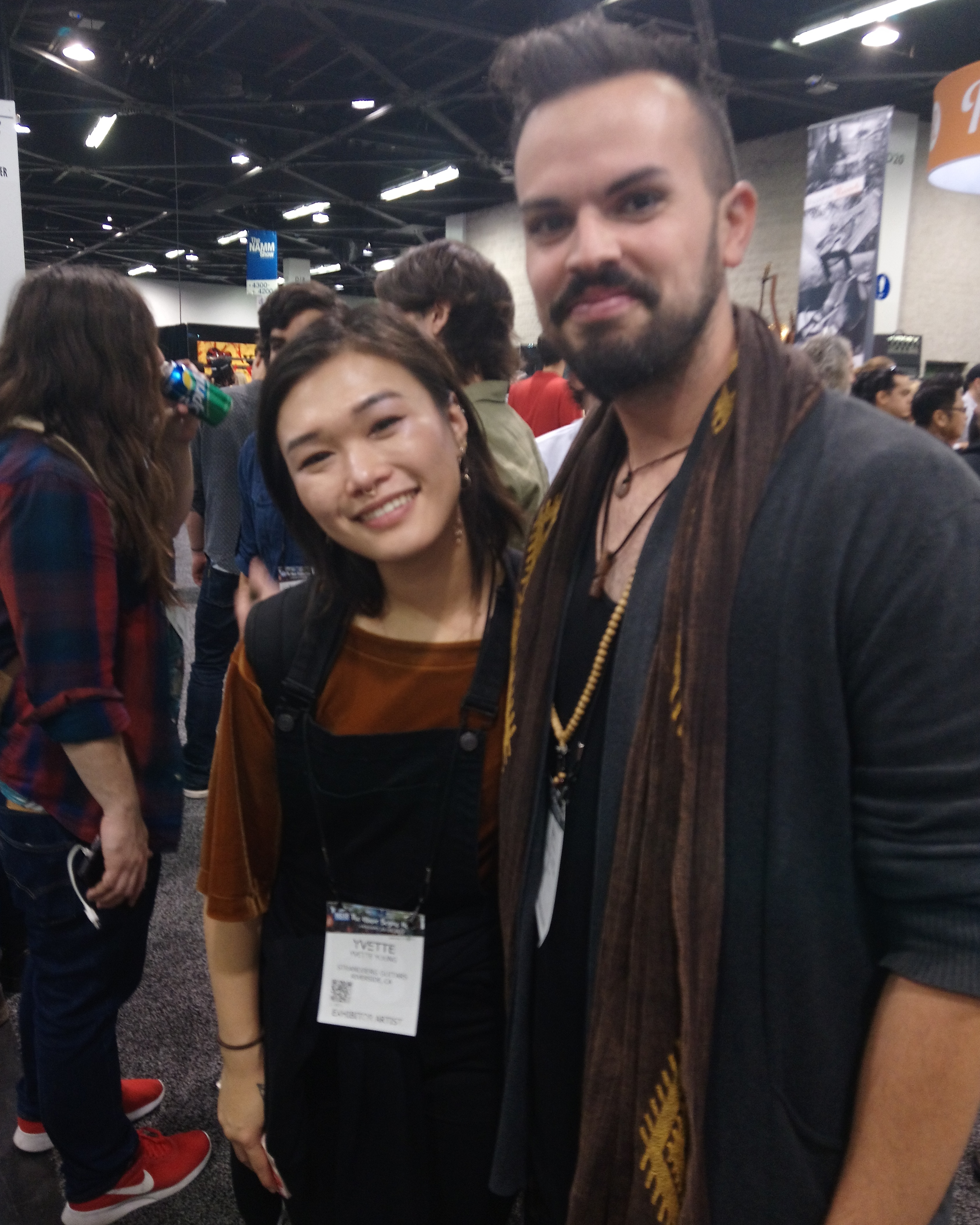 Yvette Young NAMM 2018