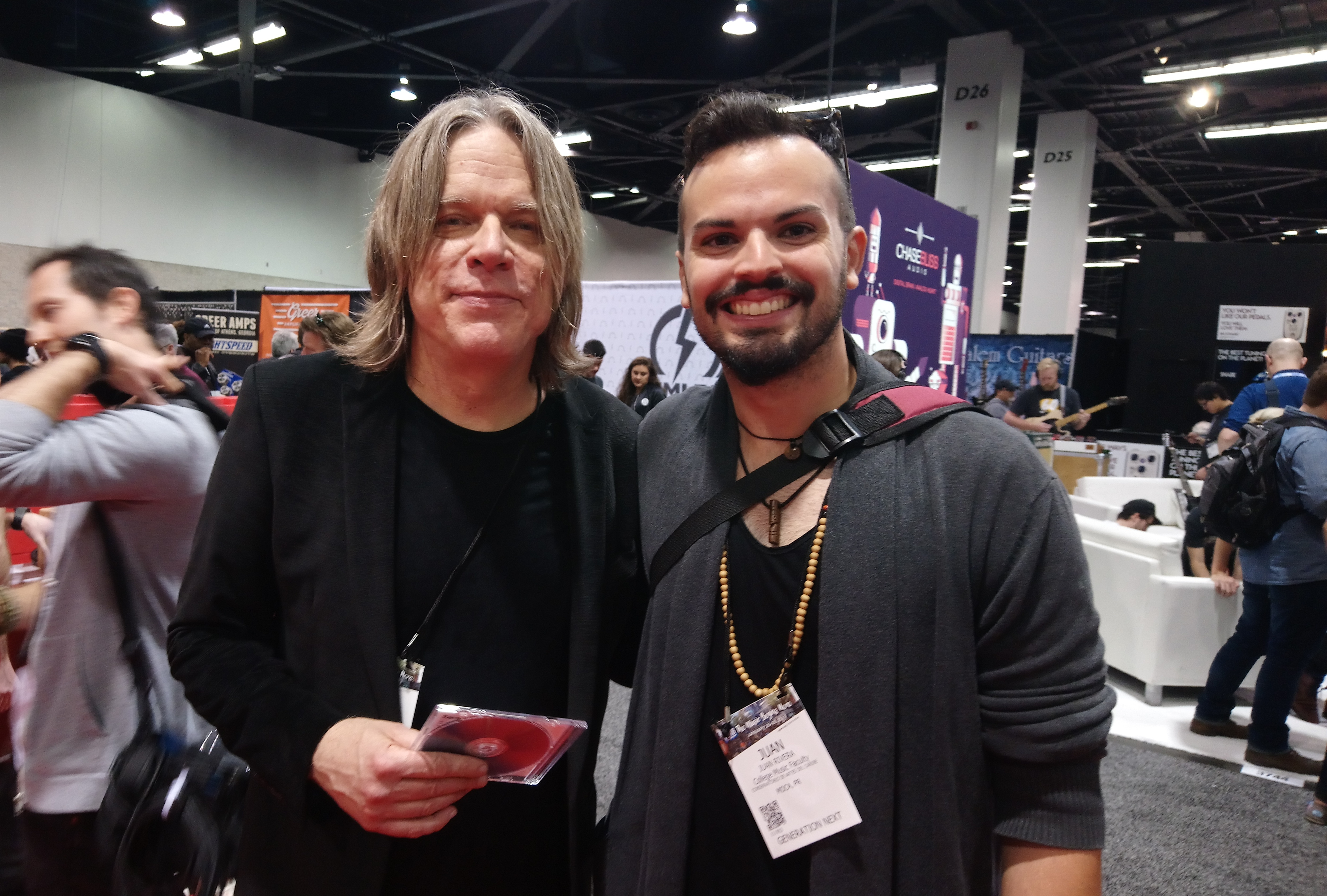 Andy Timmons NAMM 2018