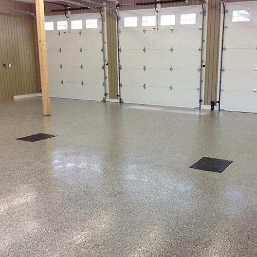 auto repair garage floor
