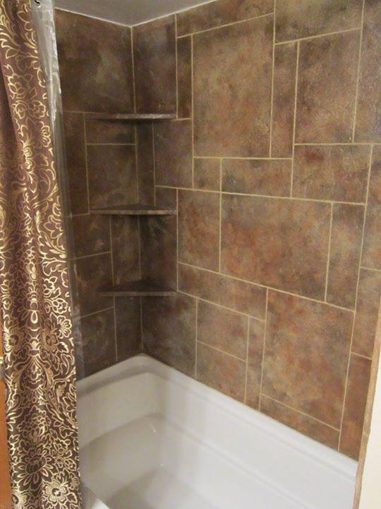 cementitious shower
