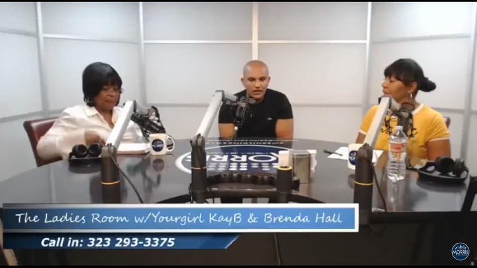 Street Connect On Health at a Radio Station