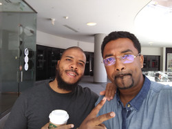 Napoleon and Real D In Downtown L.A