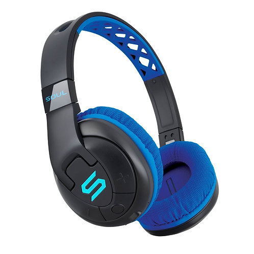 X-TRA Performance Bluetooth Over-Ear Headphones for Sports Blue