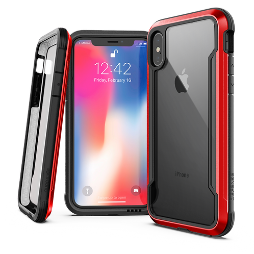 X-Doria Defense Shield iPhone X / Xs / Xs Max / Xr - Red