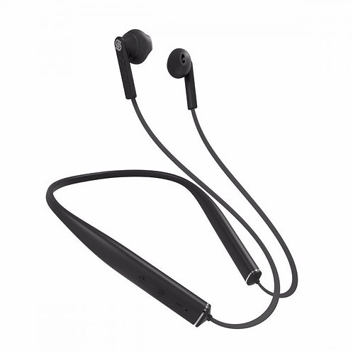 URBANISTA MILAN Noise Cancelling Neckband Headphone Dark Clown - Black