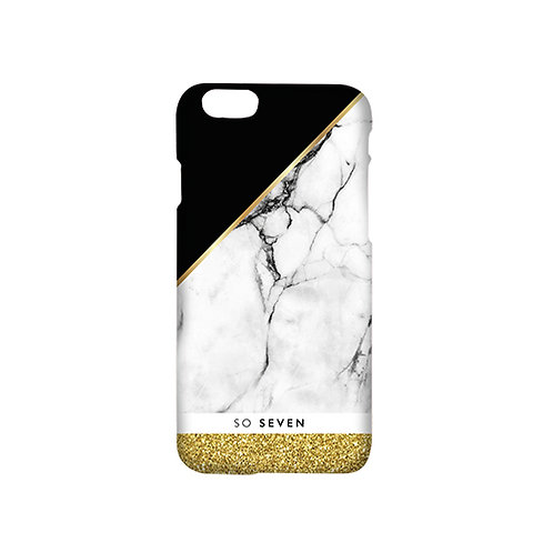 SO SEVEN CASE MARBLE-GOLD IPHONE 7&7 PLUS